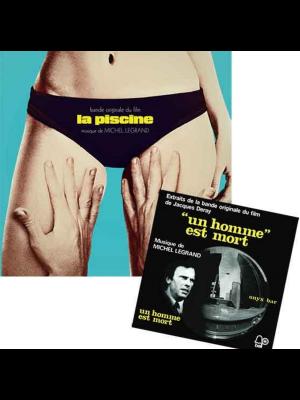 La Piscine Ost (1969) +Bonus 7'': Un Homme Est Mort