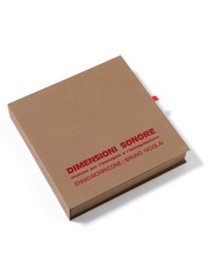 DIMENSIONI SONORE (Deluxe Box Set: 10LP Red vinyl, 10CD, Book, Poster)