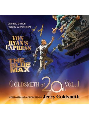 GOLDSMITH AT 20th (VOL.1): VON RYAN'S EXPRESS / THE BLUE MAX (2 CD)